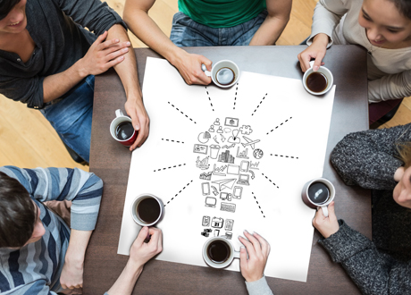 Learning From Innovation Hubs: Fluidity, Serendipity, and Community Combined