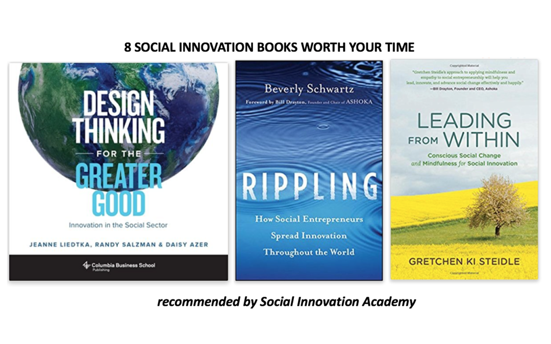 8 social innovation books (really) worth your time - Limitless